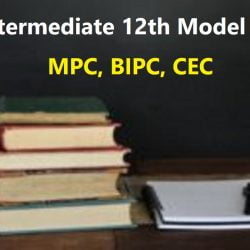 AP Intermediate 12th Model Paper 2020