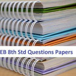 Gujarat Board 8th STD Model Paper 2020 GSEB 8 वीं कक्षा प्रश्न पत्र 2020 જી એસ ઇ બી 8 મી વર્ગ પ્રશ્નો પેપર્સ 2020