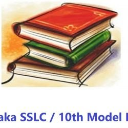 Karnataka SSLC Model Question Paper 2020