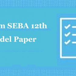 Assam HS Previous Paper 2020